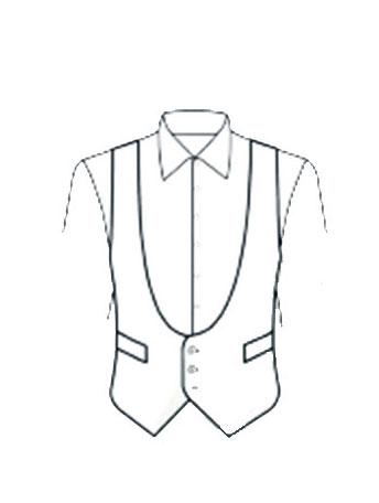 Gilet Black Tie
