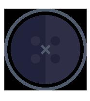 icona stilizzata Bottone